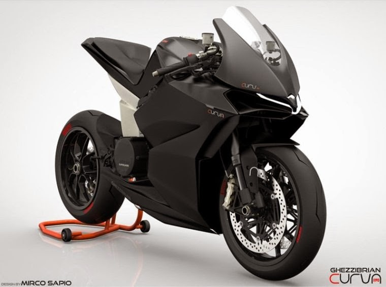 2015 Ford Escapes Concept Superbike Ducati Panigale Curva 1190 - Garage Car