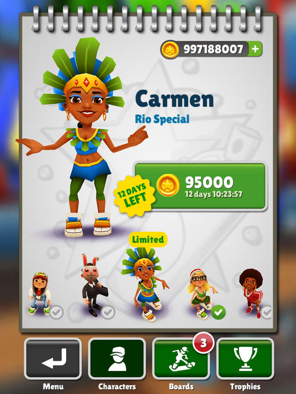 play online subway surfers on facebook