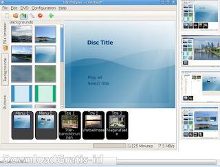 Software Gratis Burning DVD Dengan Menu Interaktif Sebelum Video Dimulai
