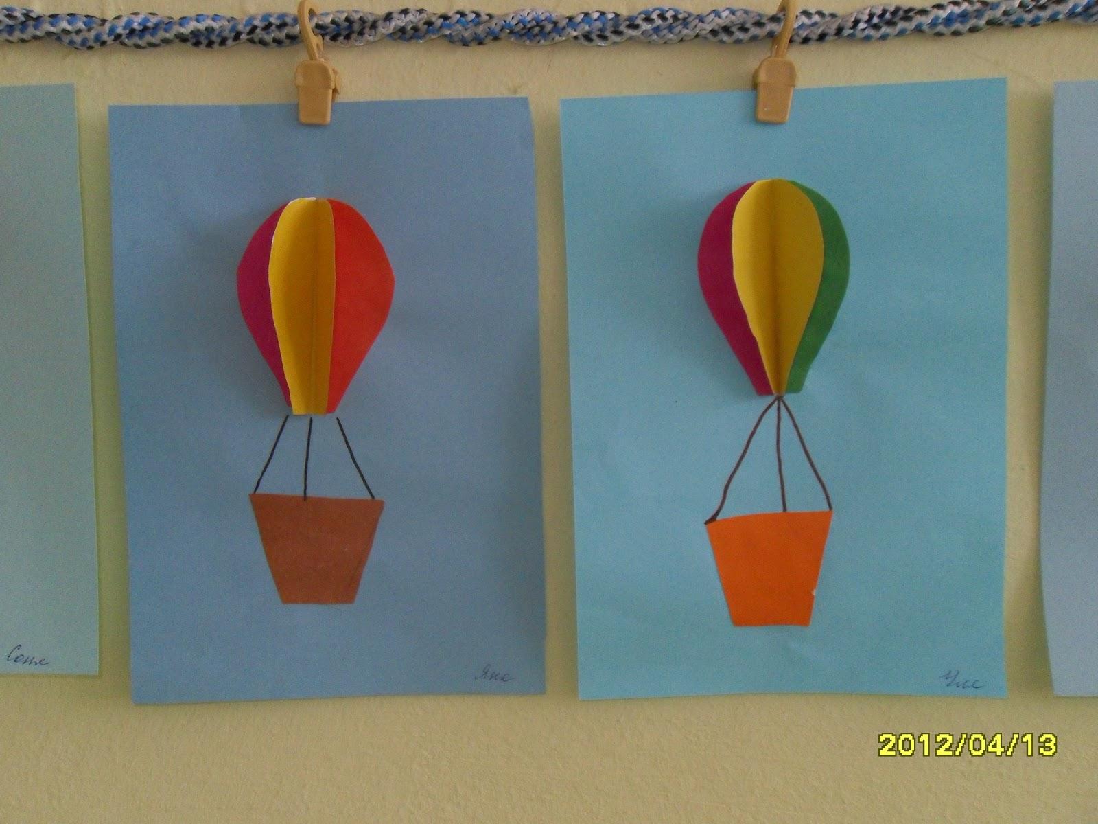 Как сделать воздушный шар из бумаги своими руками фото