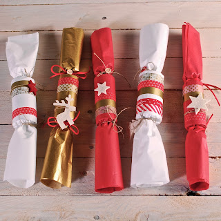 comment faire christmas crackers, déco Noél, handmade