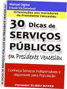 30 Dicas de Serviços Públicos em Presidente Venceslau