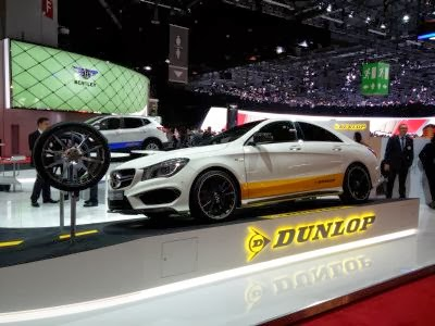Dunlop AMG CLA Fitment