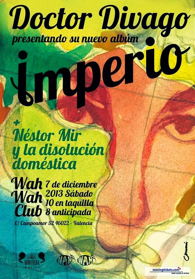 """Lección del Doctor Divago en directo: presentación de """"Imperio"""""""