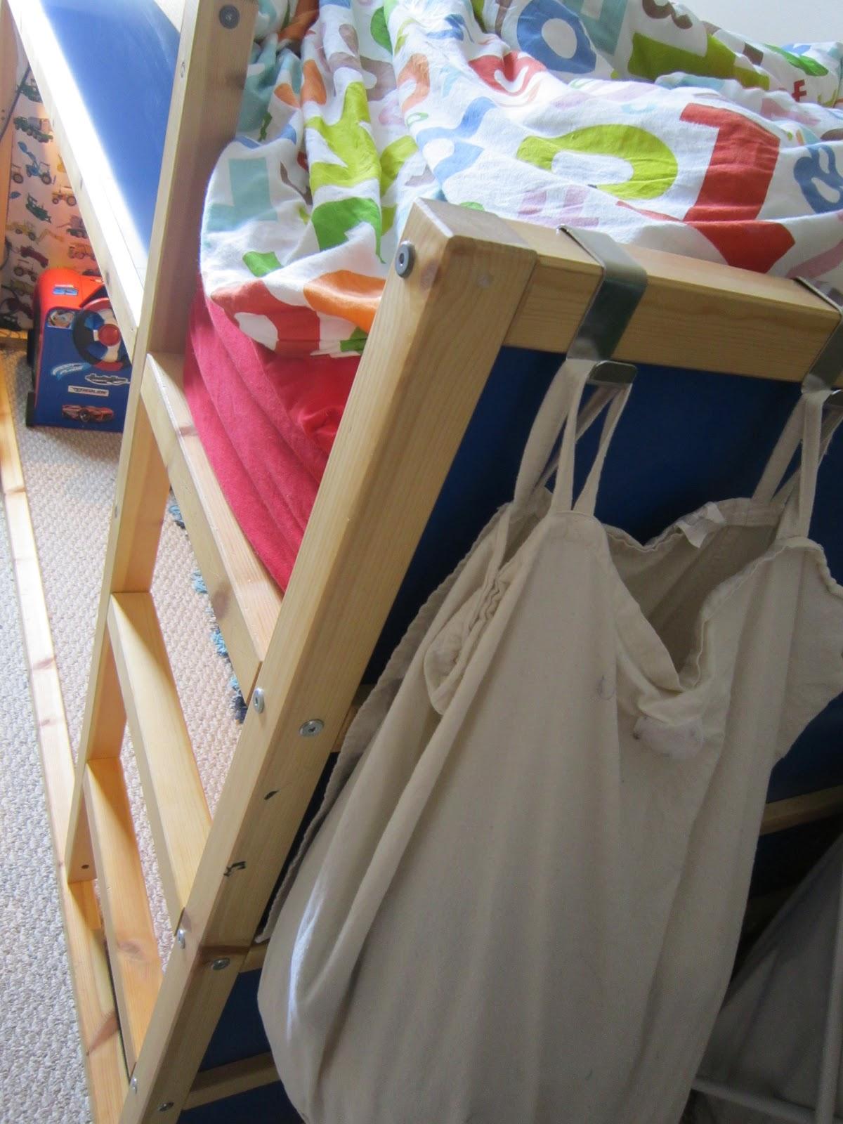 Loft bed curtains dorm - Kids Children Handmade Diy Curtains For Our New Kura Loft Bed