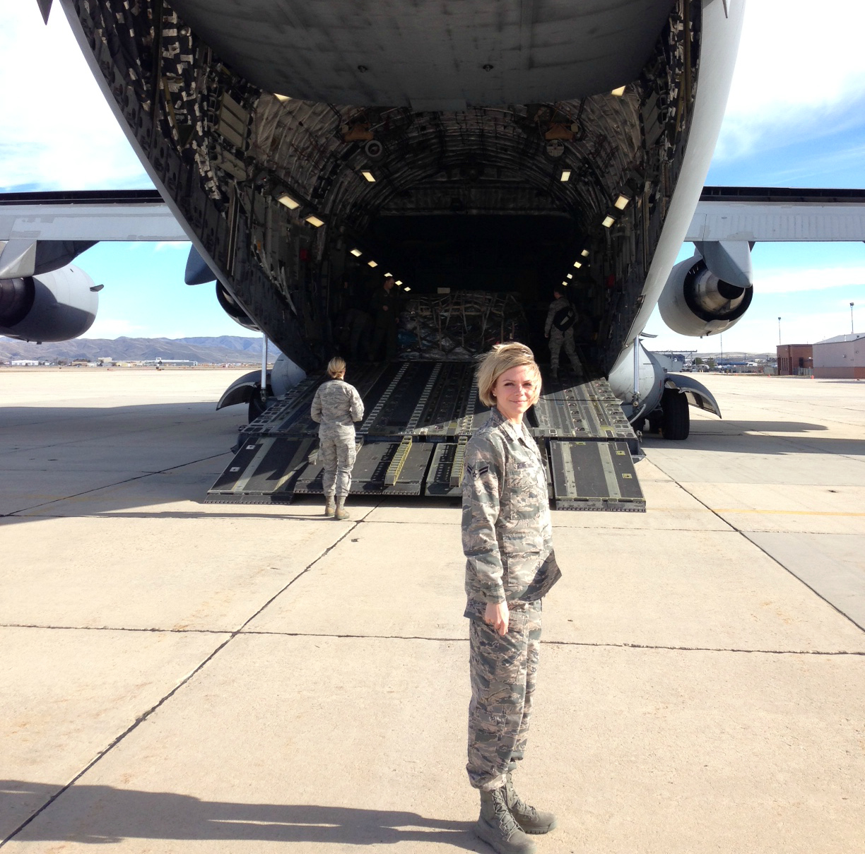 Airforce C-17 Aircraft, Idaho Air National Guard
