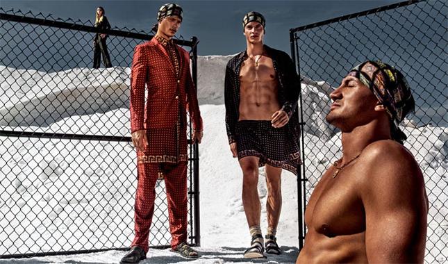 Versace Men's Spring/Summer 2016 Campaign
