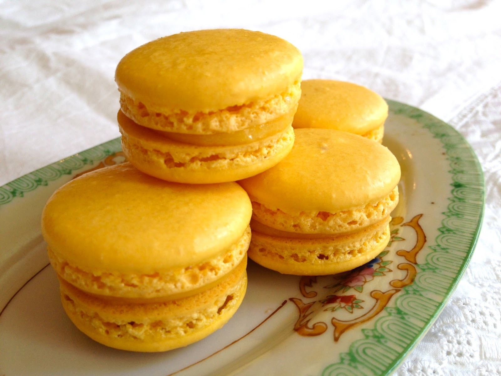 My Favorite Recipes: Passionfruit Macarons