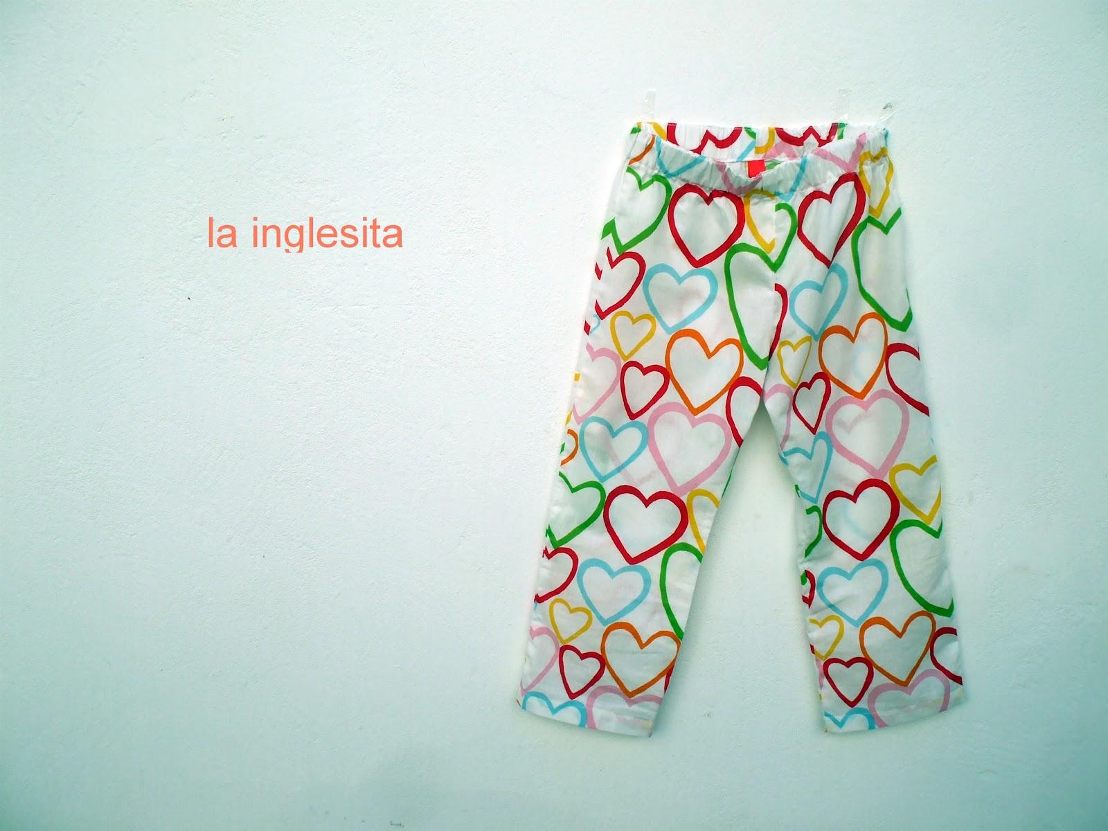 la inglesita: patrón de pantalón para niños gratis :: free PJ pants ...