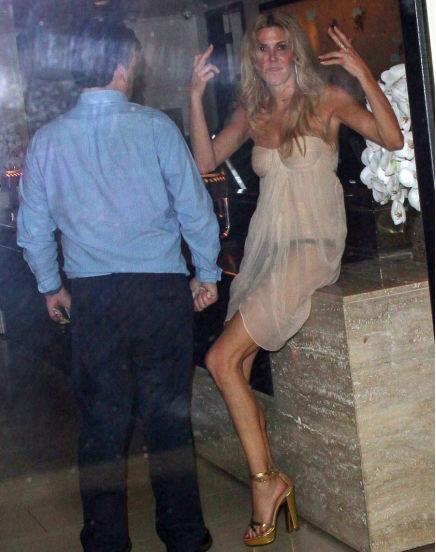Brandi Glanville Drunken Nip Slip And Wardrobe Malfunction Photos
