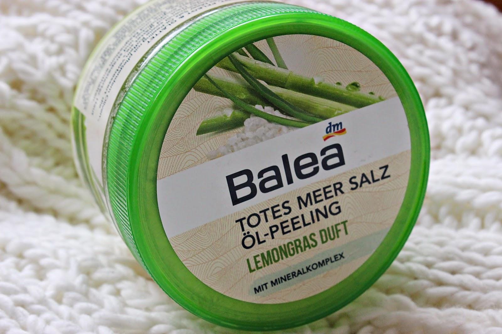 balea, peeling do ciała, peeling solny, trawa cytrynowa