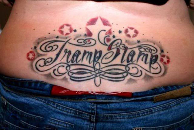 Tramp Stamp Tattoos