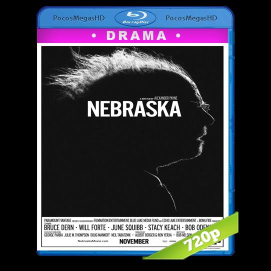 Nebraska (2013) BrRip 720p Inglés AC3+subs