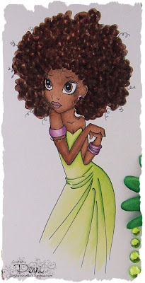 copic marker europe colouring afro caribbean hair a