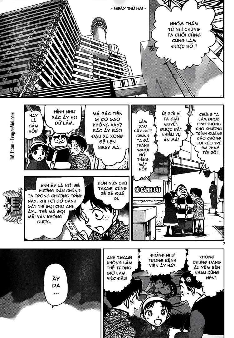 Detective Conan - Thám Tử Lừng Danh Conan chap 804 page 8 - IZTruyenTranh.com