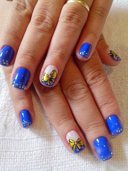 Blue Nail Designs...