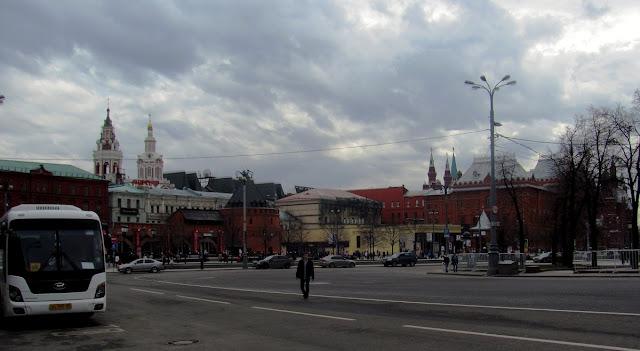 Москва, Театральная площадь