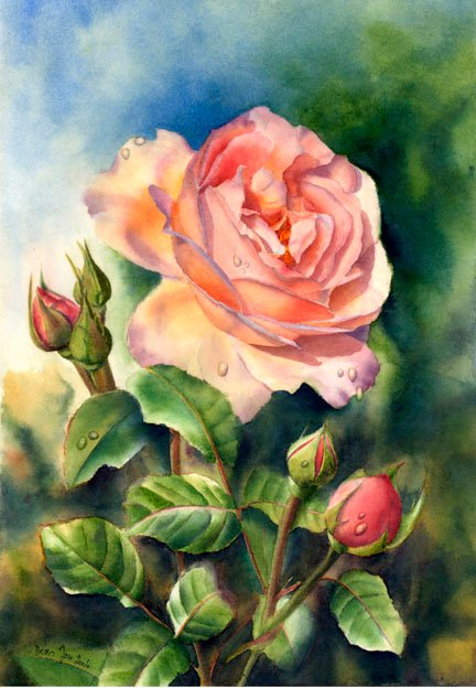 maher art gallery doris joa german realistic watercolor