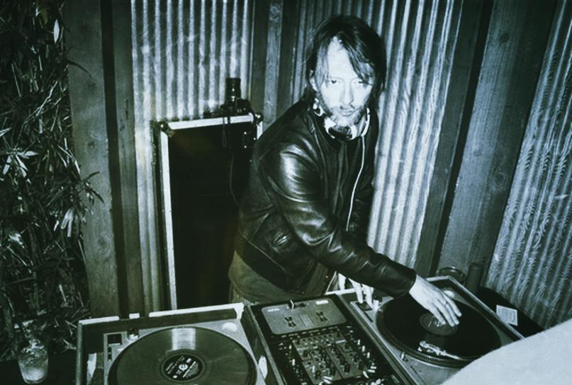 thom yorke DJ