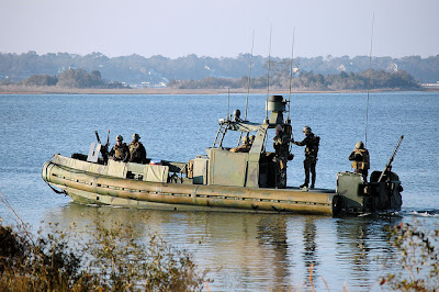 The Silver Ship's new 40 feet Riverine Patrol Boats can hit speeds of 40 knots. (all photos : Militaryphotos)