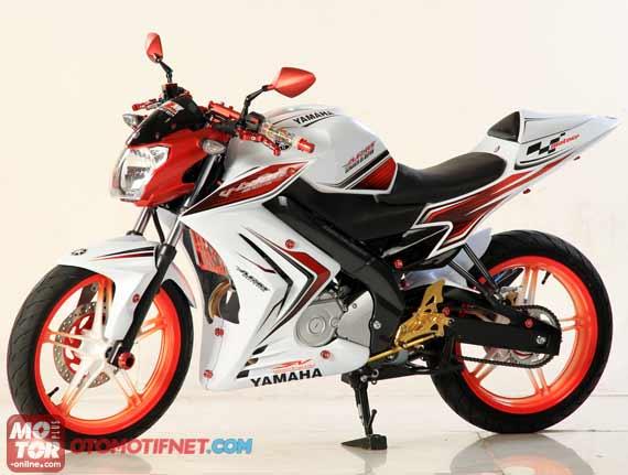 Yamaha New V-ixion Lightning Modif Minimalis