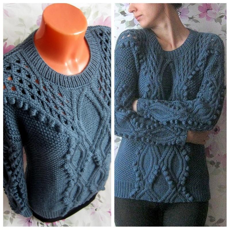 вязaние тонких свитеров