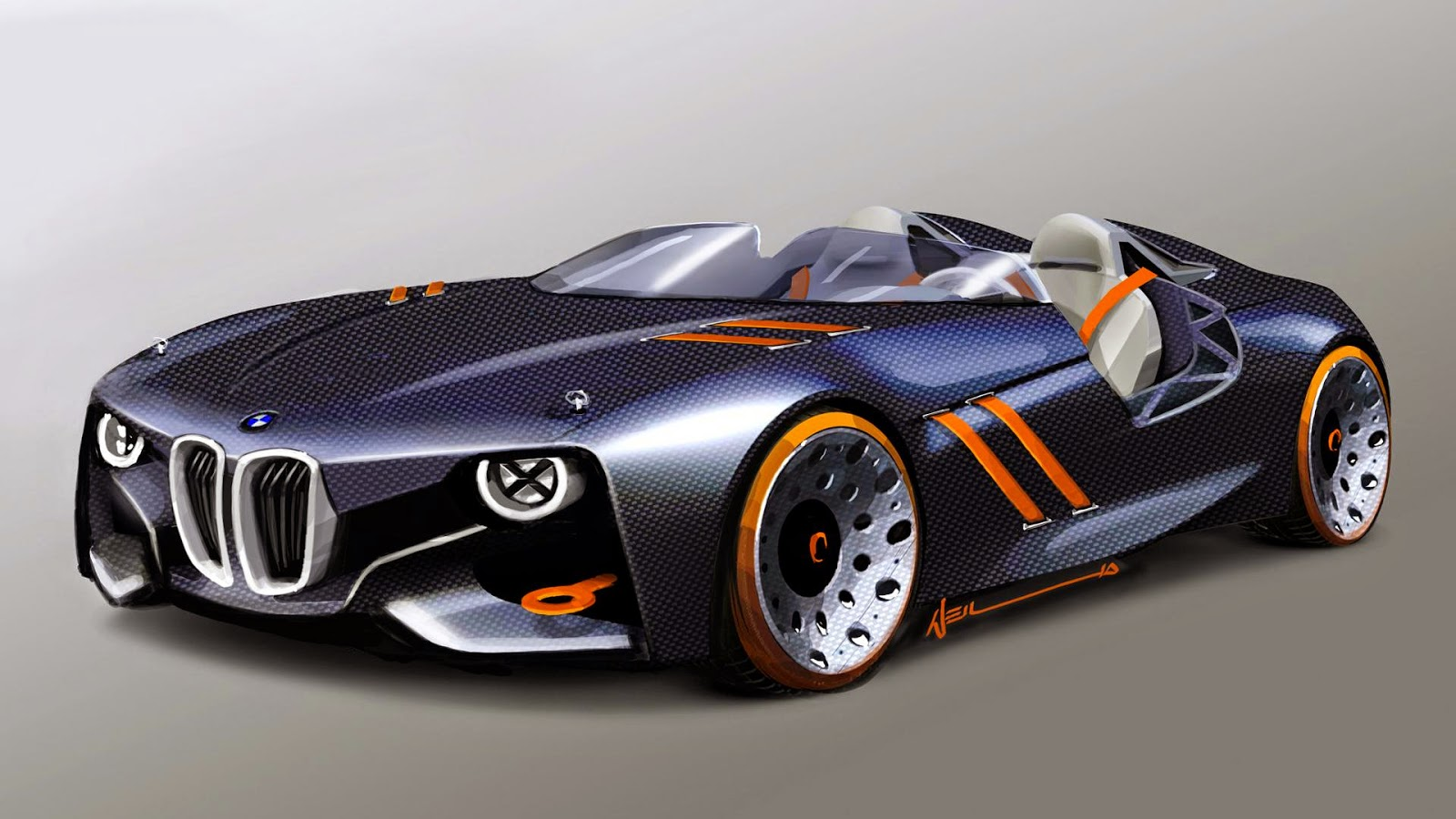 Nice BMW 328 Hommage Latest Car HD Wallpapers