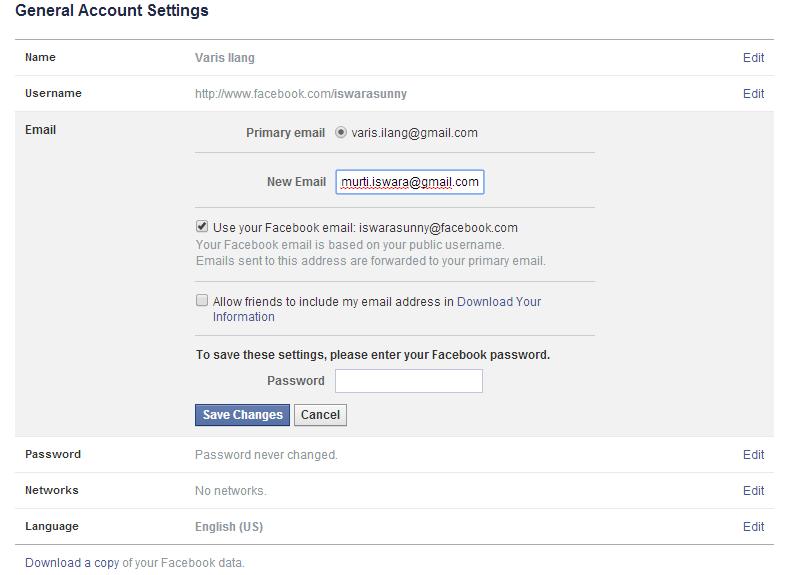 Cara Memberikan Security Berlapis Facebook 4