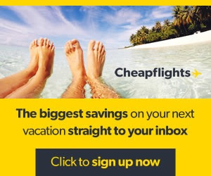 CheapFlights Biggest Travel Savings to Your Inbox + Win Flights