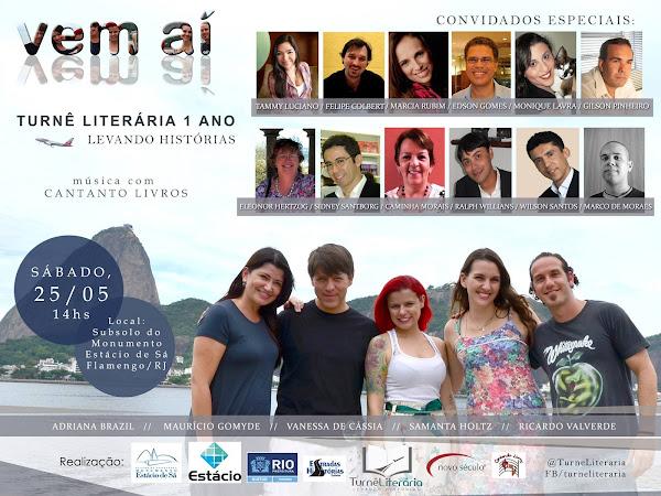 1º Aniversário da Turnê Literária no Rio de Janeiro