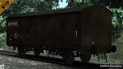 Fastline Simulation: A rather grubby maroon liveried COV AB without the end vent and carrying the TOPS code VBB.
