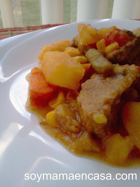 receta de estofado de carne de res en slow cooker
