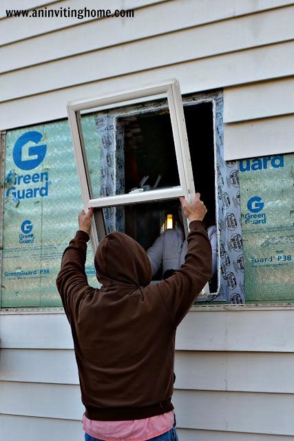 installing a new window