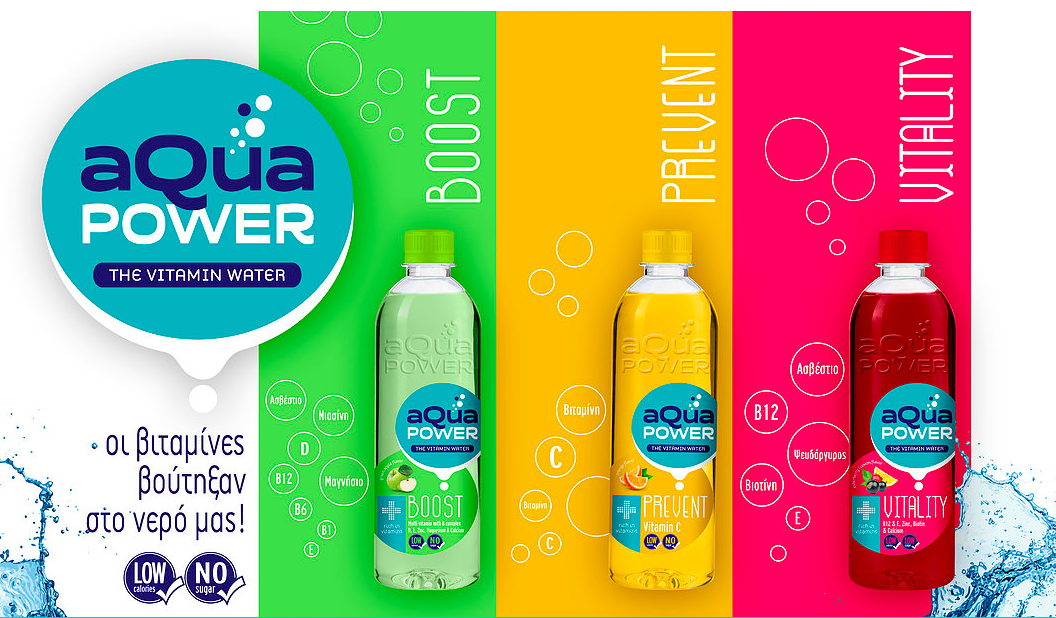 AQUA POWER The Vitamin Water