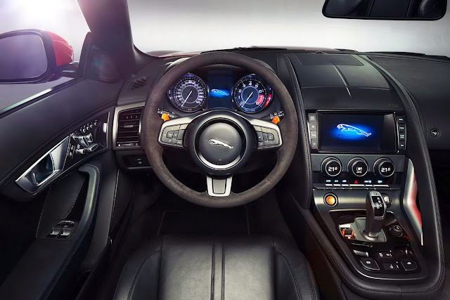 jaguar f-type coupe interior