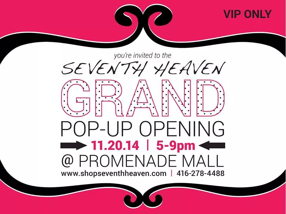 seventh heaven grand opening