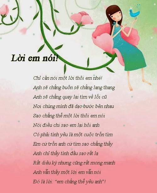 hình ảnh in bài thơ đẹp và ý nghĩa