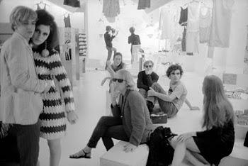 Os rumos da moda também passavam por lá