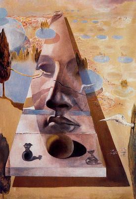 Aparició de la cara d'Afrodita (Salvador Dalí)