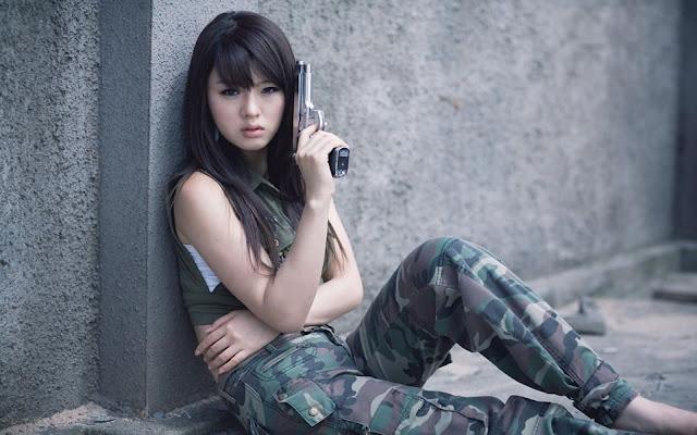 Hwang Mi Hee Model