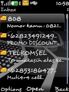 Baca SMS Tanpa Membukanya Pada Nokia S40