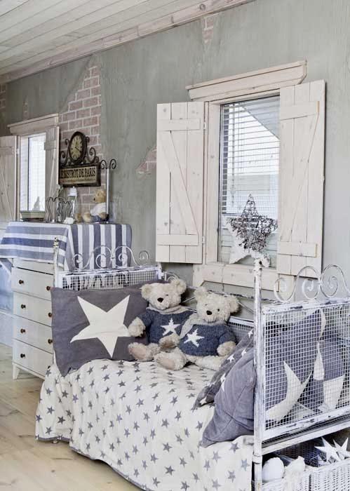 amenajari, interioare, decoratiuni, decor, design interior, stil shaby chic, scandinav, alb, rustic, dormitor copii