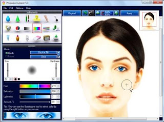 Photoinstruments 5.8 Portable Full Version Makeup Screenshot