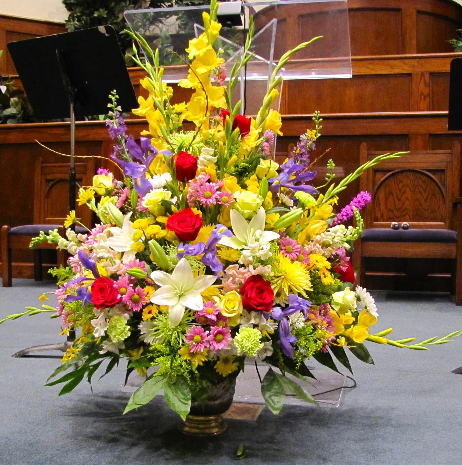 Flower Arrangements For Church Sanctuary: The Plantersville Connection