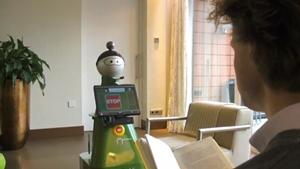 Primeras pruebas con el robot que cuida a las personas mayores