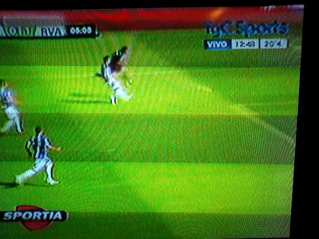 De un partido de la Liga Española. Si tienen DirecTV se darán cuenta que el marcador es de DirecTV Sports.