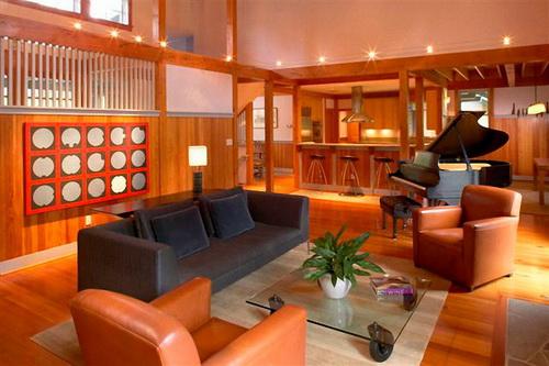 gambar desain rumah kayu minimalis modern terbaru desain