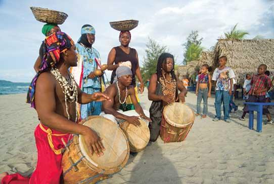 GARIFUNATHE BLACKS IN DIASPORA WHO WERE NEVER SLAVES