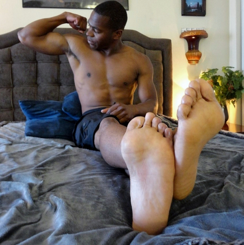 Black boy feet while sucking dick gay his