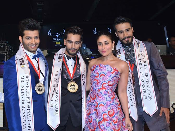 Rohit Khandelwal wins Provogue Personal Care Mr. India 2015